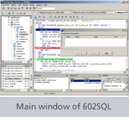 Main window of 602SQL Open Server 11